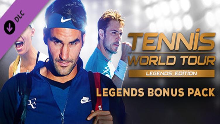 Tennis World Tour - Legends Bonus Pack фото