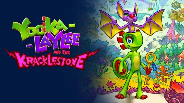 Yooka-Laylee and the Kracklestone - Graphic Novel фото