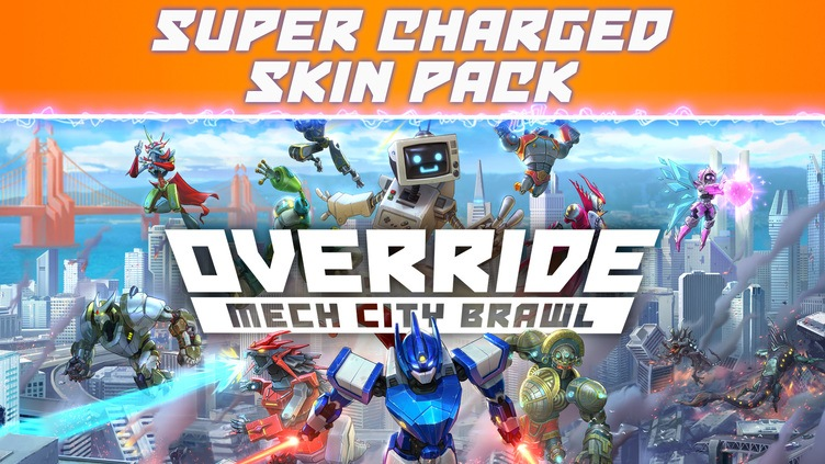 Override: Mech City Brawl - Super Charged Skin Pack DLC фото