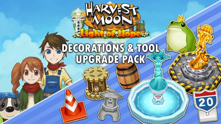 Harvest Moon: Light of Hope Special Edition - Decorations & Tool Upgrade Pack