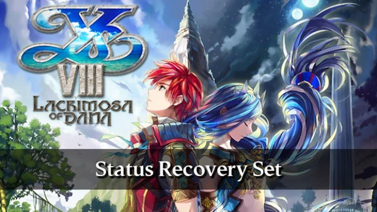 Ys VIII: Lacrimosa of DANA - Status Recovery Set DLC фото