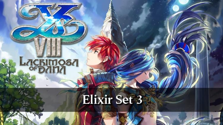 Ys VIII: Lacrimosa of DANA - Elixir Set 3 DLC фото