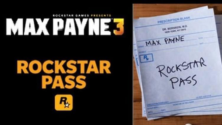 Max Payne 3 Rockstar Pass DLC фото