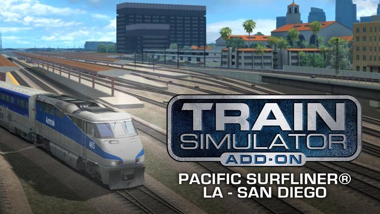 Train Simulator: Pacific Surfliner® LA - San Diego Route фото