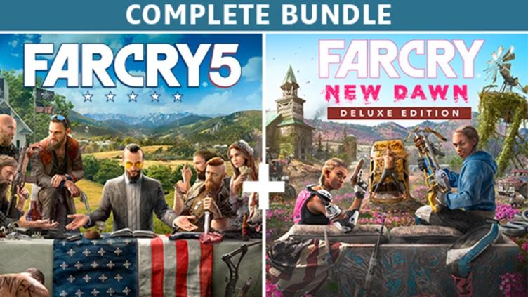 Far Cry® 5 + Far Cry® New Dawn Deluxe Edition Bundle фото