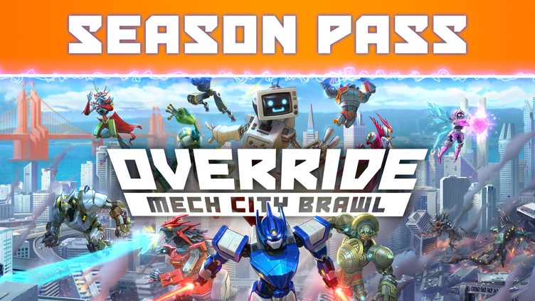 Override: Mech City Brawl - Season Pass фото