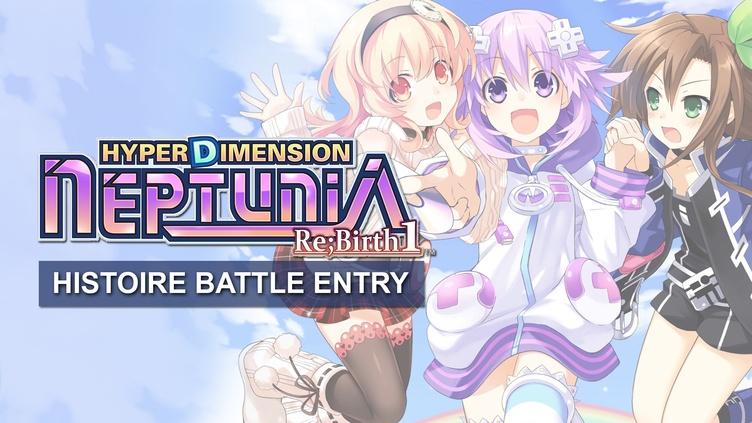 Hyperdimension Neptunia Re;Birth1 Histoire Battle Entry DLC