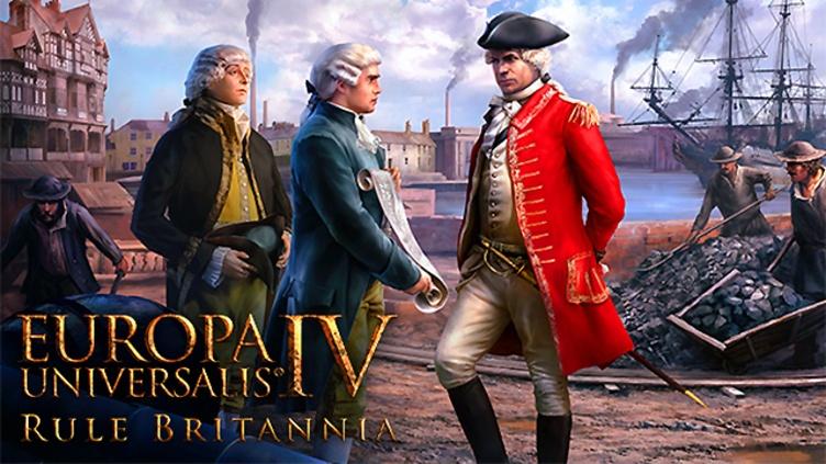 Europa Universalis IV: Rule Britannia DLC фото