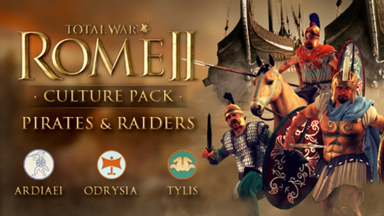 Total War: ROME II - Pirates and Raiders Culture Pack DLC фото