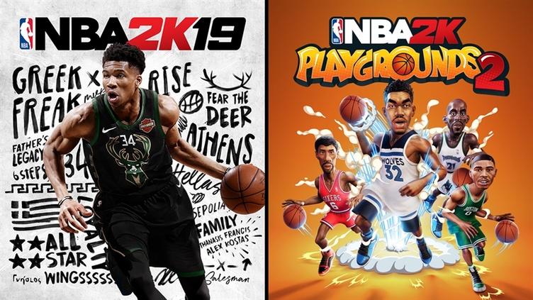 NBA 2K19 + NBA 2K Playgrounds 2 Bundle фото