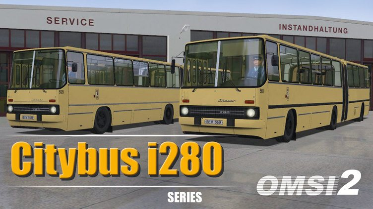 OMSI 2 Add-On Citybus i280 Series фото