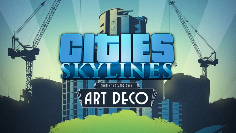Cities: Skylines - Content Creator Pack: Art Deco DLC