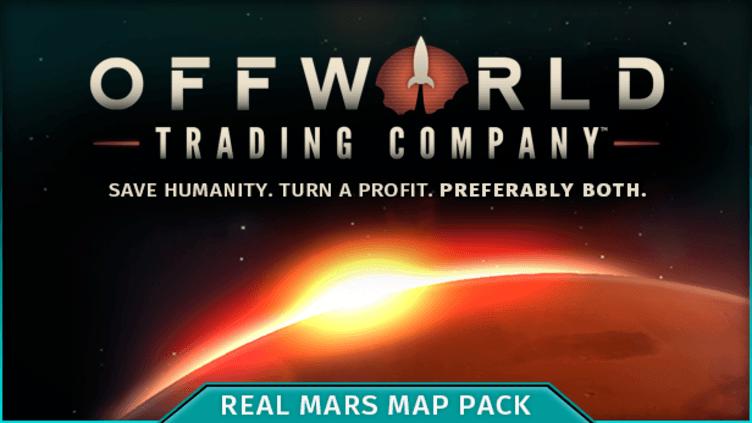 Offworld Trading Company - Real Mars Map Pack DLC фото