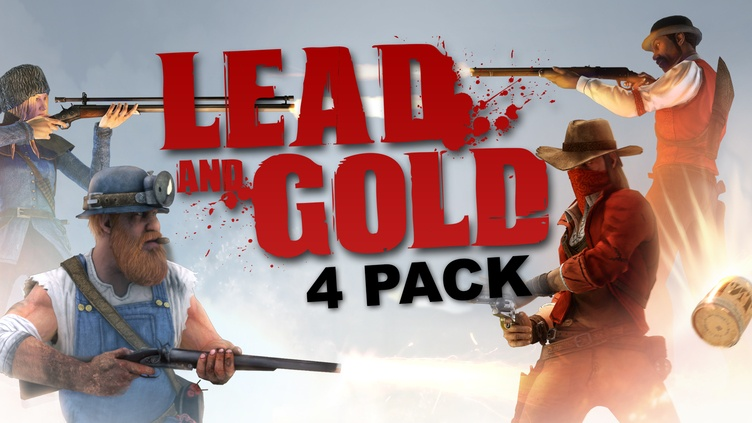 Lead and Gold: Gangs of the Wild West - 4 Pack фото