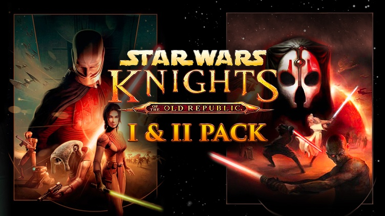 Star Wars: Knights of the Old Republic I & II Pack фото