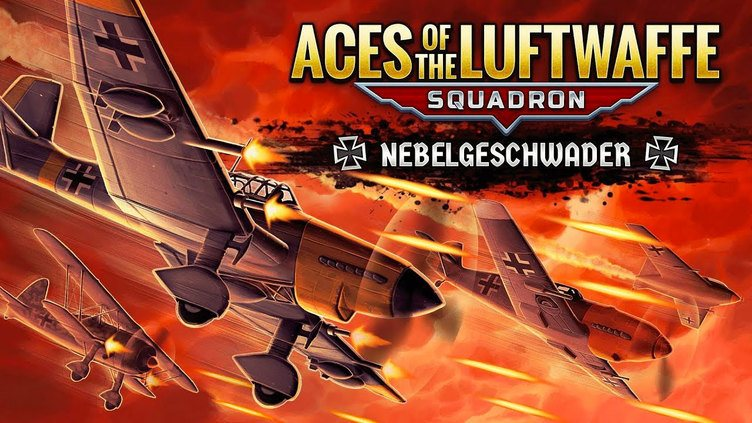 Aces of the Luftwaffe Squadron - Nebelgeschwader фото