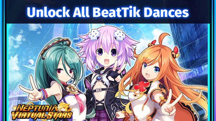 Neptunia Virtual Stars - Unlock All BeatTik Dances