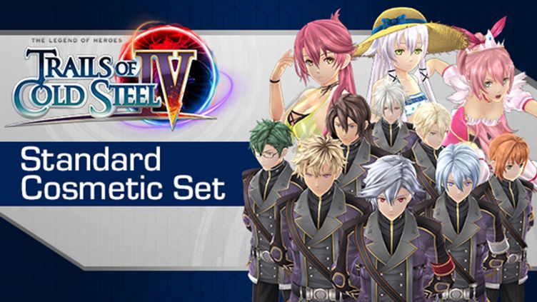 The Legend of Heroes: Trails of Cold Steel IV - Standard Cosmetic Set