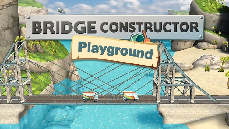 Bridge Constructor Playground фото