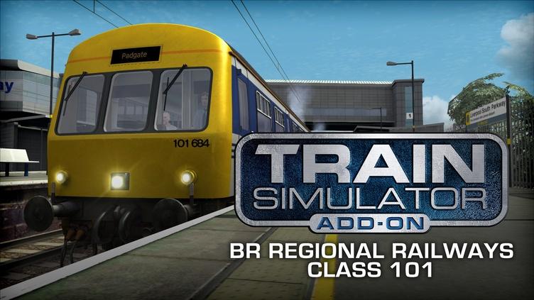 Train Simulator: BR Regional Railways Class 101 DMU Add-On фото