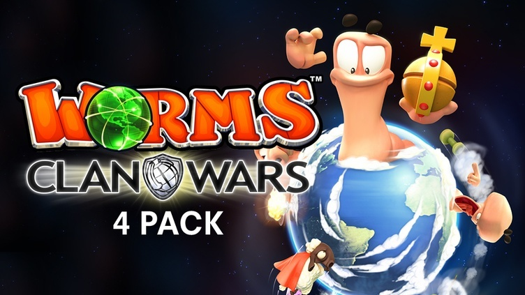 Worms Clan Wars 4-Pack фото