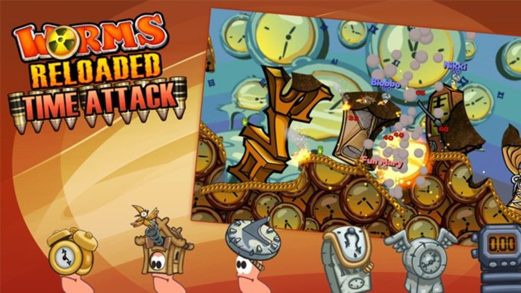Worms Reloaded: Time Attack Pack DLC фото