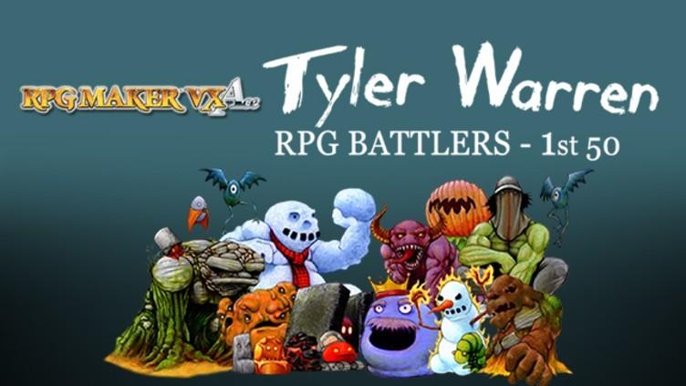 RPG Maker VX Ace: Tyler Warren First 50 Battler Pack