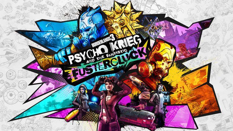 Borderlands 3 - Psycho Krieg and the Fantastic FusterCluck