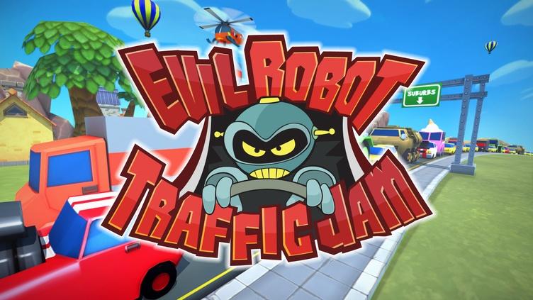 Evil Robot Traffic Jam HD фото