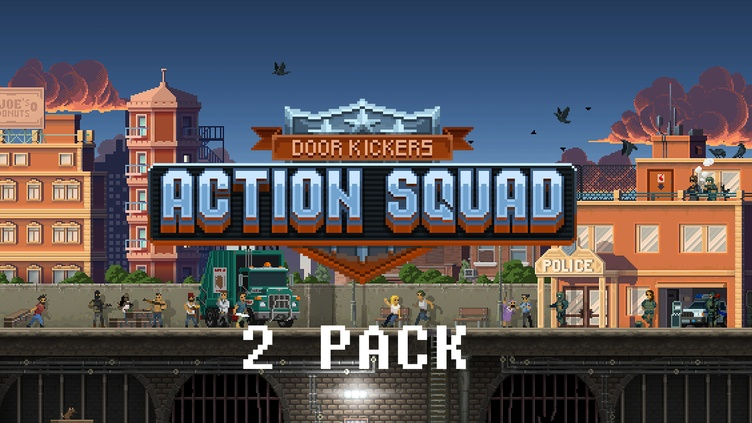 DOOR KICKERS: ACTION SQUAD - TWO PACK фото