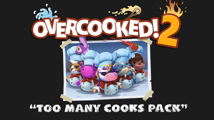 Overcooked! 2 - Too Many Cooks Pack фото