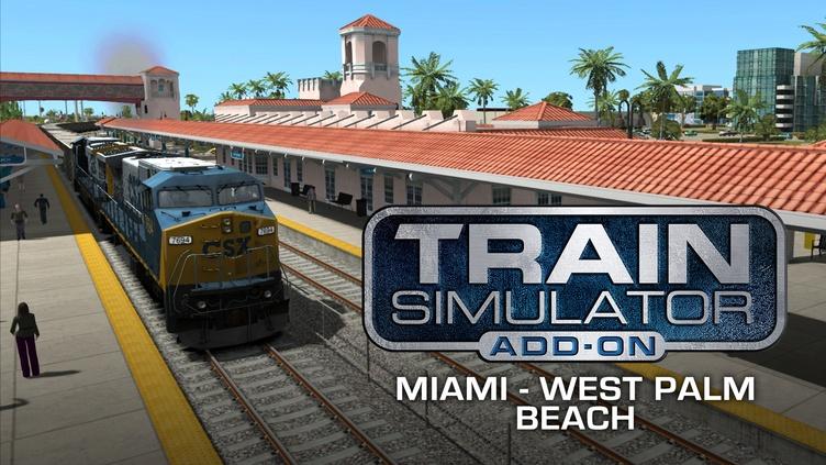 Train Simulator: Miami - West Palm Beach Route Add-On фото