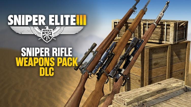 Sniper Elite 3 - Sniper Rifles Pack DLC фото