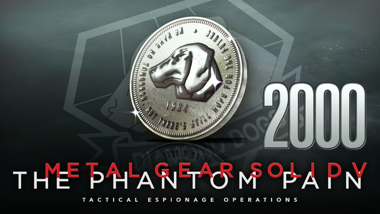 METAL GEAR SOLID V: THE PHANTOM PAIN - MB Coin 2000 фото