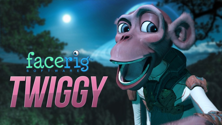 FaceRig Twiggy the Monkey Avatar
