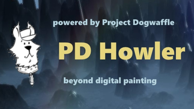 PD Howler 9.6 Digital Painter and Visual FX box фото