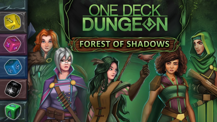 One Deck Dungeon - Forest of Shadows фото
