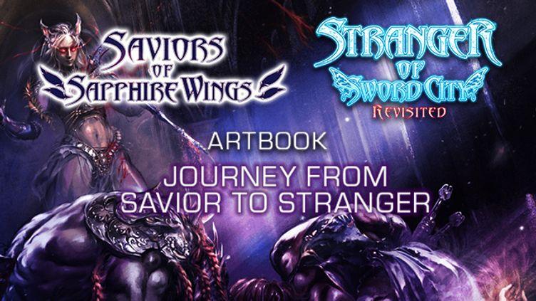 "Saviors of Sapphire Wings / Stranger of Sword City Revisited - ""Journey from Savior to Stranger"" Art Book"