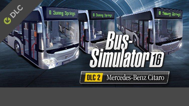 Bus Simulator 16 - Mercedes-Benz Citaro DLC фото