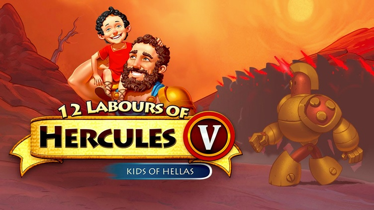 12 Labours of Hercules V: Kids of Hellas (Platinum Edition) фото