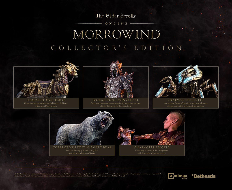 The Elder Scrolls Online - Morrowind - Digital Collector's